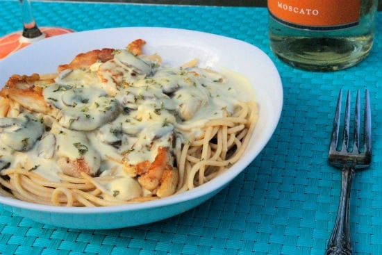 15 Chicken Recipes for Dinner - Dijon Chicken Spaghetti