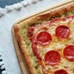Garlic Bread Crusted Classic Pizza 1