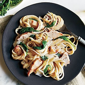 15 Chicken Recipes for Dinner - Grilled Chicken Florentine Pasta Recipe