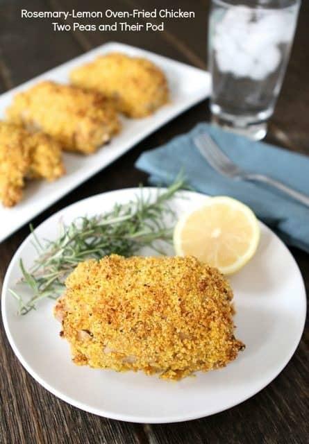 15 Chicken Recipes for Dinner - Rosemary-Lemon Oven-Fried Chicken
