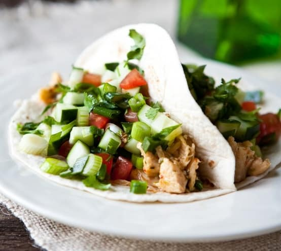 15 Chicken Recipes for Dinner - Thai Chicken Tacos