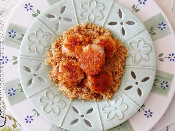 Baked Breaded Shrimp: Cheddar Jack & Bacon AmandasCookin.com #KraftFreshTake @amandaformaro