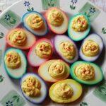 Rainbow Deviled Eggs & Egg Salad