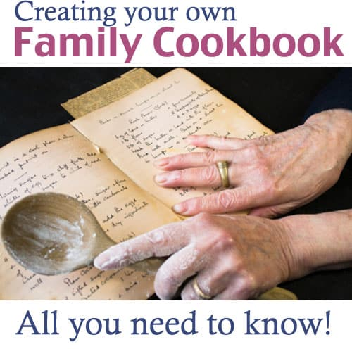 Creating a Family Cookbook! All you need to know about creating your own, GREAT tips and resources! @amandaformaro