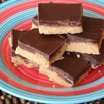 No Bake Peanut Butter Bars from AmandasCookin.com @amandaformaro