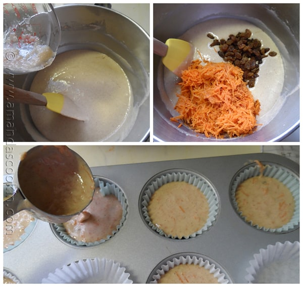 Time Saver Carrot Cupcakes from AmandasCookin.com @amandaformaro