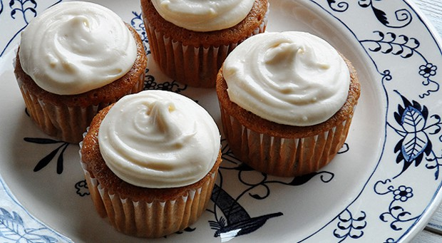 Time Saver Carrot Cupcakes