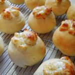 Gooey Garlic Cheese Rolls from AmandasCookin.com @amandaformaro