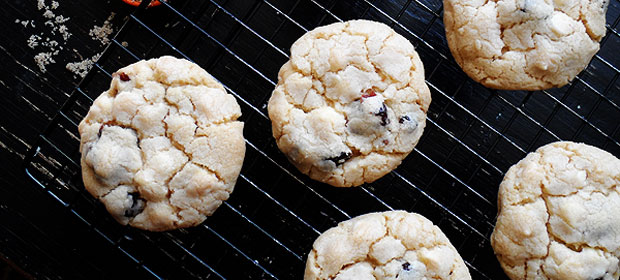 Cherry White Chocolate Chip Cookies
