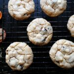 Cherry White Chocolate Chip Cookies from AmandasCookin.com @amandaformaro
