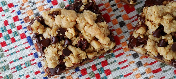 Peanut Butter Chocolate Layer Bars