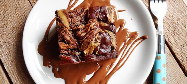 Reese's Peanut Butter Swirl Cake