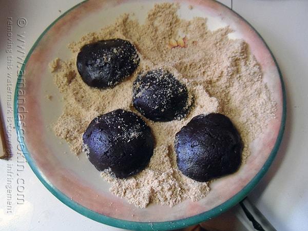 Crumb Coated S'mores Cookies @amandaformaro Amanda's Cookin'