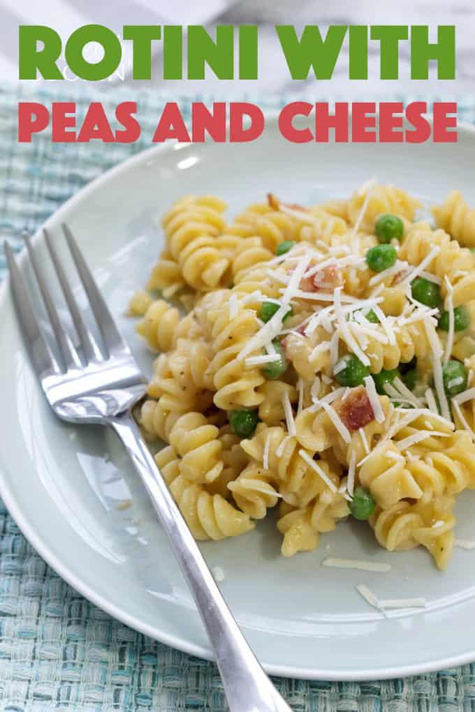 rotini peas and cheese