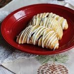 Easy Cranberry Hand Pies with White Chocolate Drizzle @amandaformaro Amanda's Cookin'