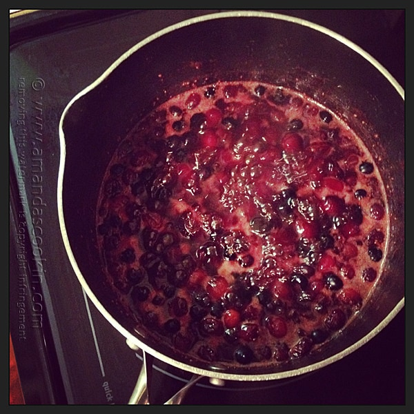 Whole Cranberry Sauce @amandaformaro Amanda's Cookin'