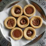 Candy Bar Peanut Butter Cookie Cups @amandaformaro Amanda's Cookin'