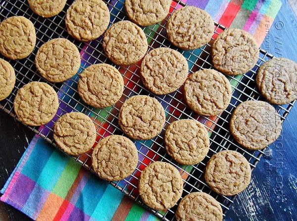Homemade Gingersnap Cookies @amandaformaro Amanda's Cookin'