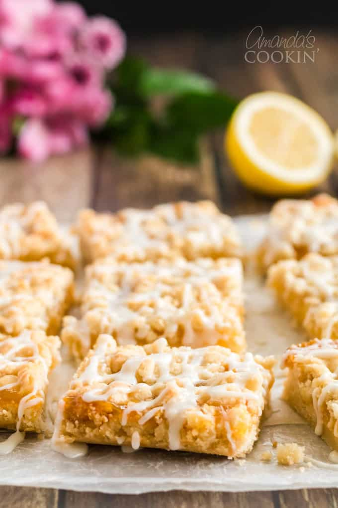 Lemon Streusel Squares
