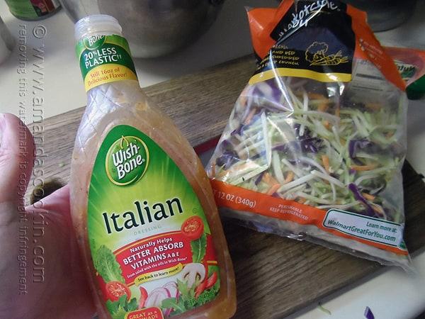 3-Ingredient Quick Pasta Salad - Amanda's Cookin' @amandaformaro