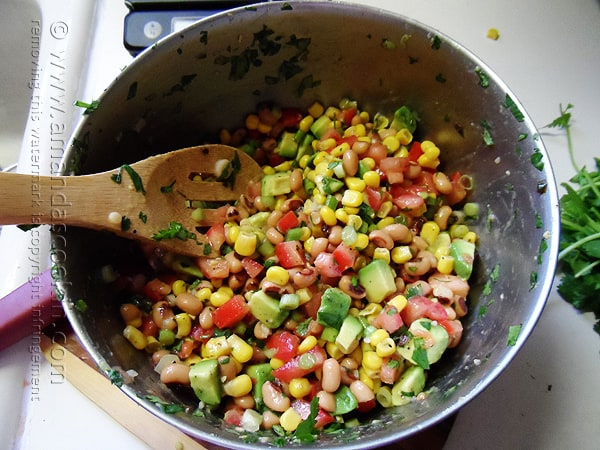 Cowboy Caviar at Amanda's Cookin' by @amandaformaro