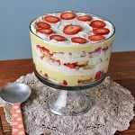 The layers in this English trifle recipe are calling my name!