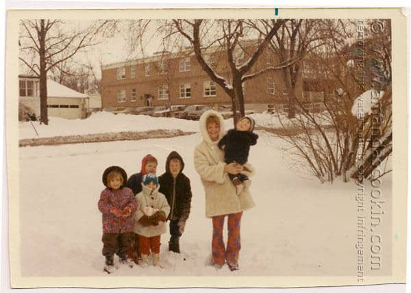 Old family photo of The Ocingtons - @amandaformaro