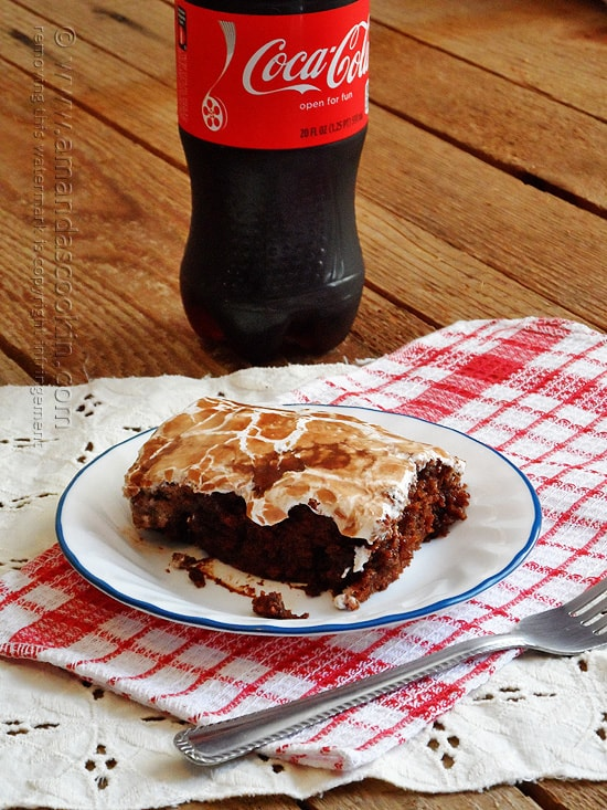 I love the coke cake at Cracker Barrel, can't wait to try this copycat!