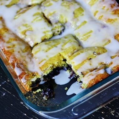 Oh my gosh! The lemon blueberry cake looks divine and so EASY! Can't wait to make it.