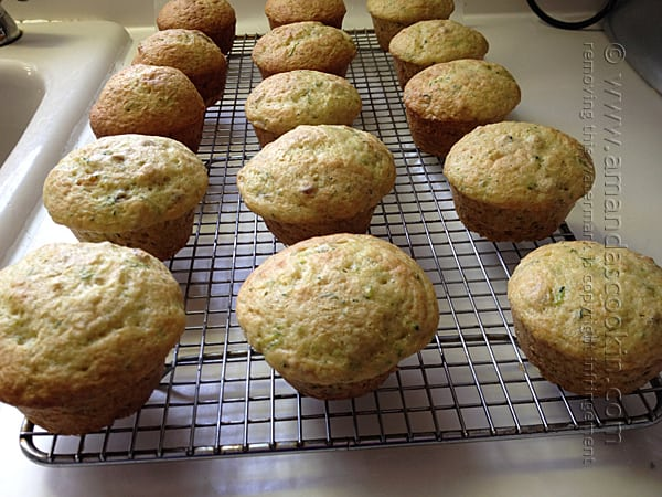 Step 3 - transfer muffins to a cooling rack