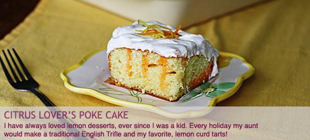 Lemon Desserts: Citrus Lover's Poke Cake