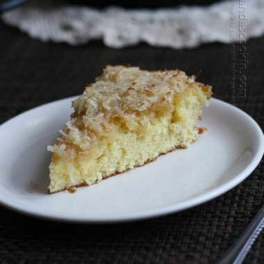 Lazy Daisy Cake - a vintage recipe from the 1940s