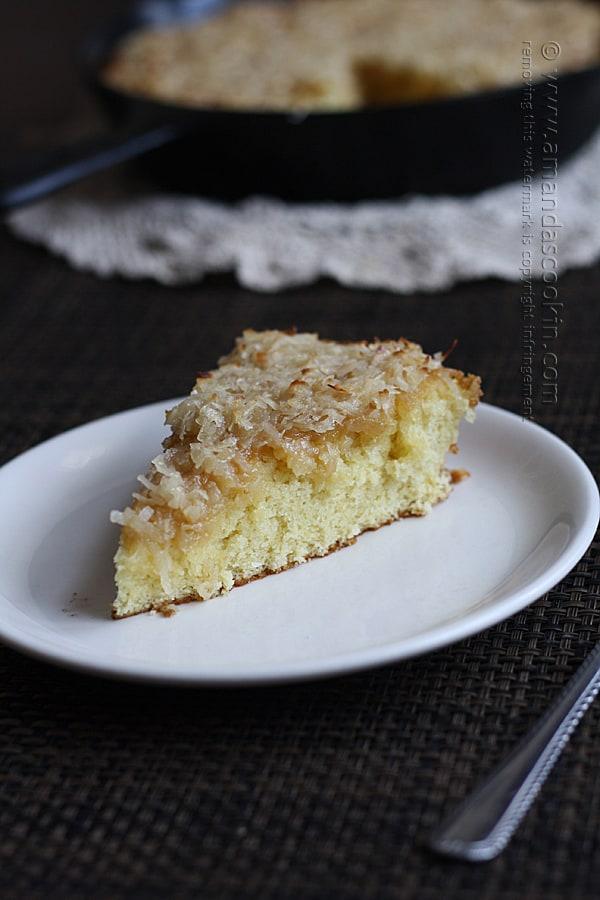 Vintage Recipe: Lazy Daisy Cake - Amanda Formaro of Amanda's Cookin'