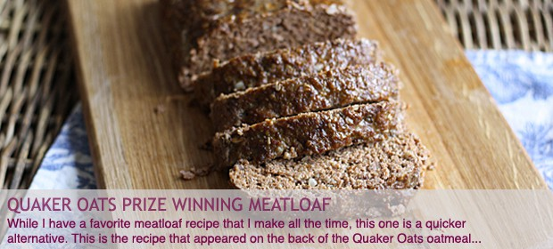 Quaker Oats Meatloaf