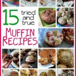 Holy breakfast, snack and dessert! MUST try those sugar crusted plum muffins! 15 Muffin Recipes to Try from Amanda's Cookin'