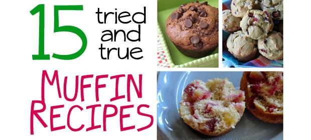 15 Homemade Muffin Recipes