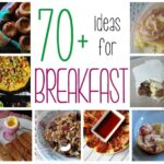 70+ Breakfast Recipes from Amanda's Cookin' - Includes eggs, frittatas, muffins, quick breads, coffee cakes, hash browns, freezer breakfasts, rolls and more!