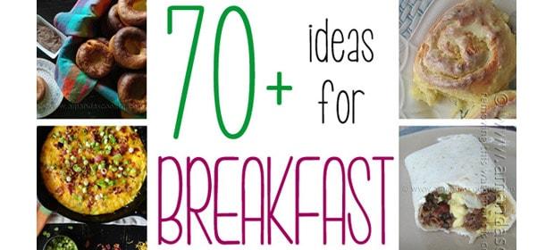 70+ Breakfast Recipes