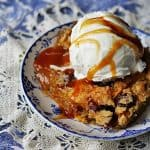 Recipe for Quick Cranberry Apple Cobbler from Amanda's Cookin'