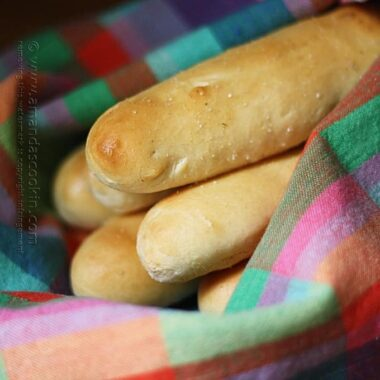 The Secret to Olive Garden's Breadsticks - From Amanda's Cookin' - Amanda Formaro