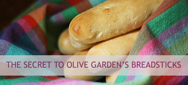 The Secret to Olive Garden's Breadsticks