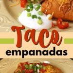 taco empanadas pin image