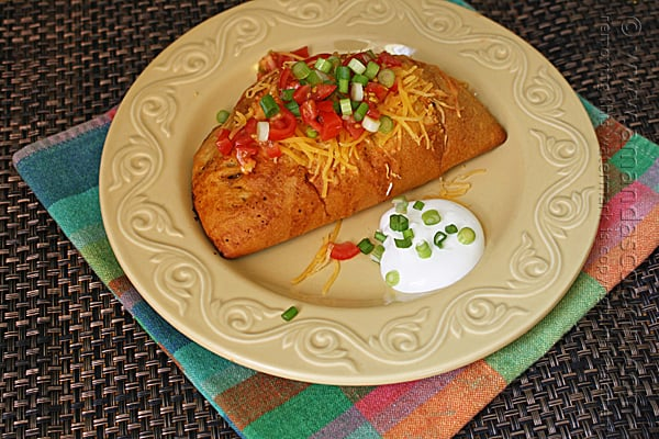 Taco Empanadas from Amanda's Cookin'