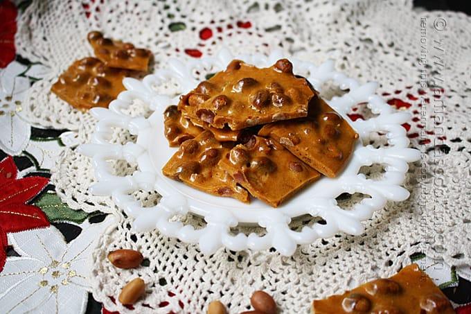 Homemade Peanut Brittle Recipe - Amanda's Cookin'