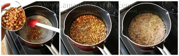 Peanut brittle step 2