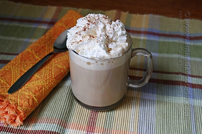 Slow Cooker Pumpkin Spice Latte - Amanda's Cookin'