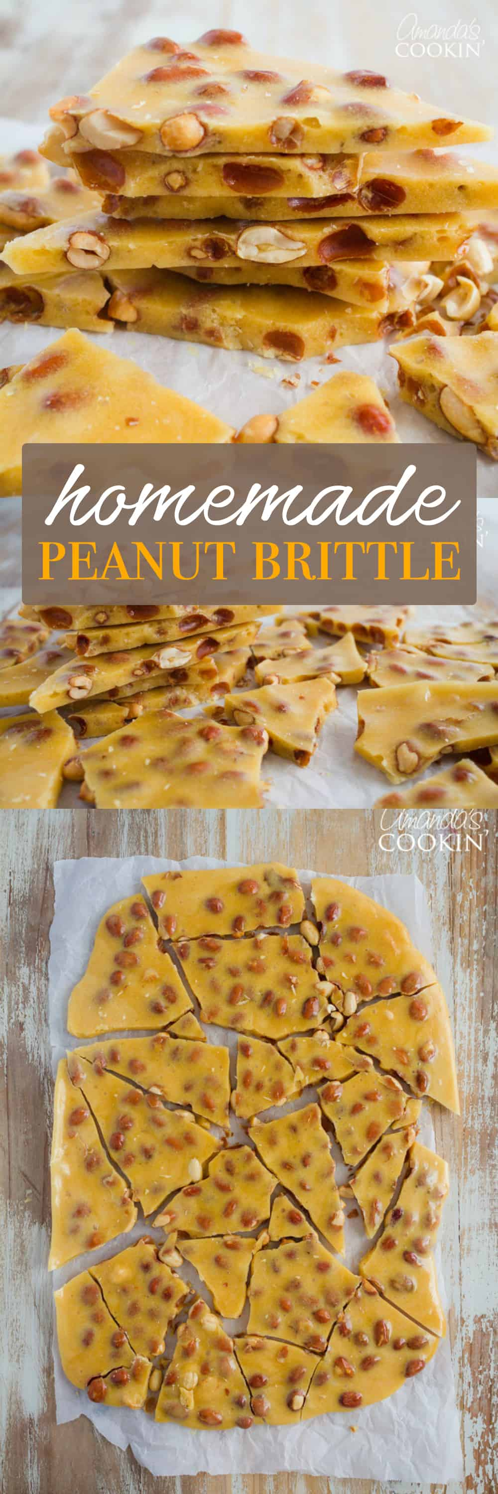 What's better than a homemade batch of Peanut Brittle during the holidays? This delectable candy treat will become your family's favorite tradition!