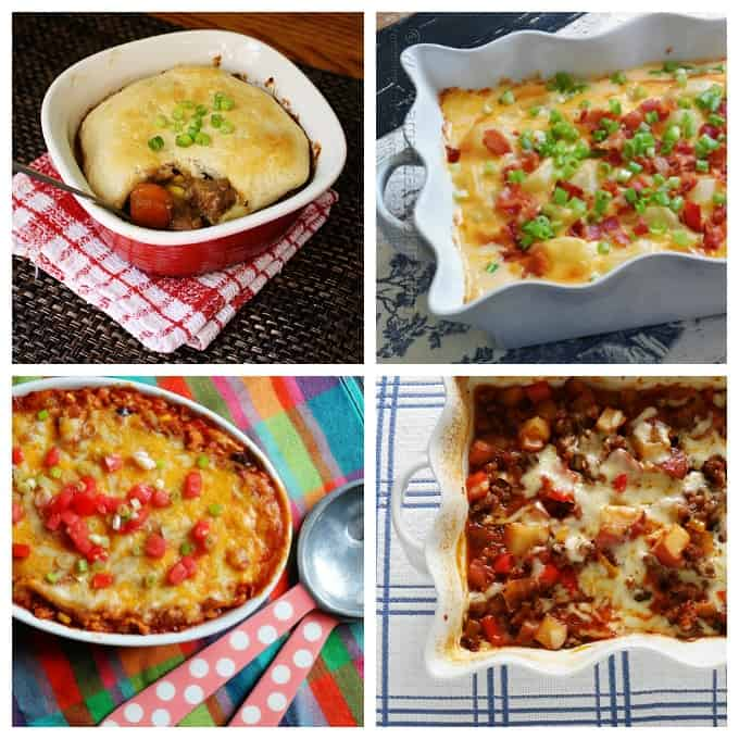 Delicious casserole recipes for dinner!