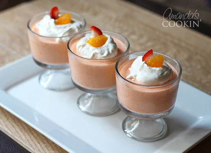 3 whipped jello mandarin dessert