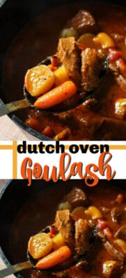 dutch oven goulash pin image